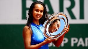 """Шампионката от """"Ролан Гарос"""" за девойки достигна до първия си четвъртфинал на ниво WTA"""