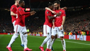 "Манчестър Юнайтед зарадва ""Олд Трафорд"" с шумна победа (видео)"