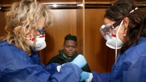 Първите тестове в Лудогорец за коронавирус - негативни