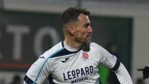 Бивш нападател на ЦСКА блесна с два гола за отбора на Едисон Йорданов