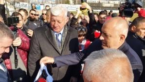 Премиерът се срещна с ръководството на Локо (Пд) и феновете на отбора (видео)