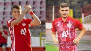 ЦСКА-София преотстъпи двама младоци