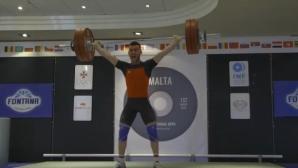 Българските щанги със злато на олимпийския квалификационен турнир в Малта