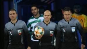 Николай Йорданов ще свири дербито между Левски и Лудогорец
