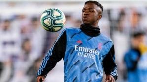 Винисиус обясни защо е избрал Реал Мадрид пред Барса