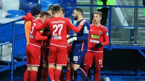 Тамбов разгроми Криля Советов в дербито на дъното в Премиер лигата (видео)