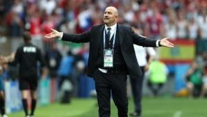 Черчесов: Треньорският щаб на Русия не отива във ваканция