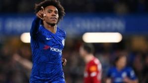 Вилиан остава верен на Челси: Ще доиграя сезона и без договор