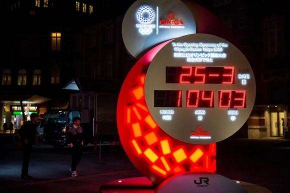 Изключиха часовника, отброяващ дните до началото на Токио 2020