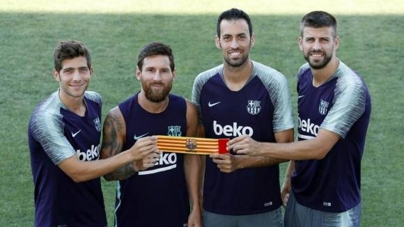 Футболистите на Барселона останаха сами в борбата си срещу ръководството