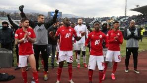 От ЦСКА-София са изпратили позицията си за довършване на първенството