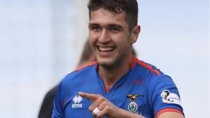 Нападателят на Инвърнес Николай Тодоров пред Sportal.bg: За мен ще е чест да играя за България