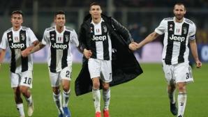 Киелини и Роналдо били ключовите фигури за решението на играчите на Юве