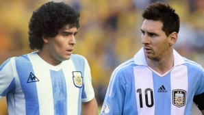 Касано: Феновете на Марадона да се примирят - Меси е най-добрият