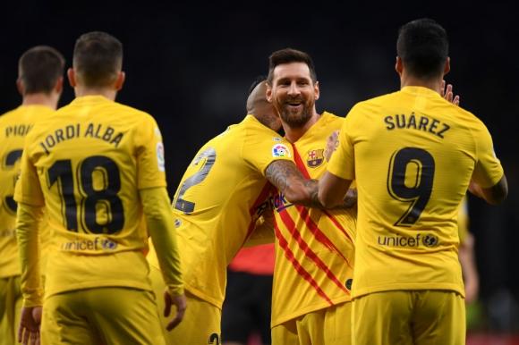 Суарес: Никой от футболистите в Барселона не е...