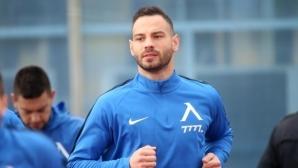 Симеон Славчев е вторият футболист на Левски, който ще отговаря на фенските въпроси
