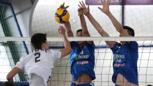 Александър Александров с призив към младите волейболисти