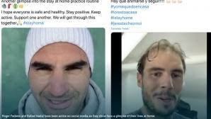 Федерер и Надал: Бъдете положително настроени