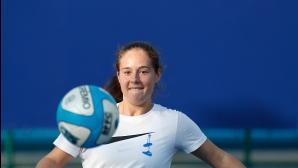 Руска тенисистка се прави на Федерер