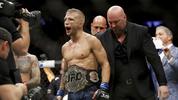 UFC обещали на допингиран шанс за титлата