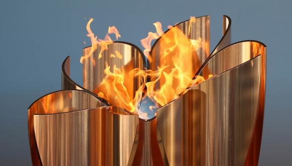 Експозицията на олимпийския огън във Фукушима беше...