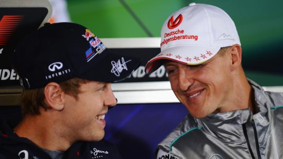 Ферари не послушали Шумахер да вземат Фетел още през 2008
