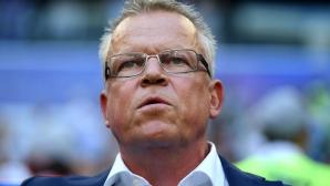 Селекционерът на шведските футболни национали Яне Андерсон е в отпуск до края на май