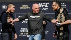 """Хронология на """"прокълнатата битка"""" на UFC - Хабиб vs. Фъргюсън"""
