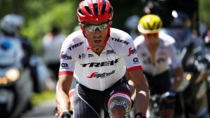Алберто Контадор пусна свой велосипед на търг, за да помогне на Червения кръст
