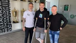 Пламен Илиев започна възстановяването си