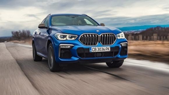 В борба с физичните закони. Тестваме новото BMW X6 M50i (Видео)