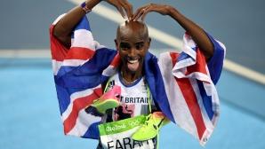 Мо Фара: Отлагането на Олимпиадата ми помага