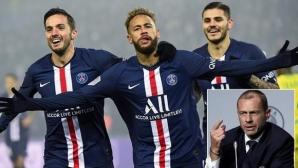 ПСЖ може да играе предварителен кръг в ШЛ, тъй като първенството не завърши