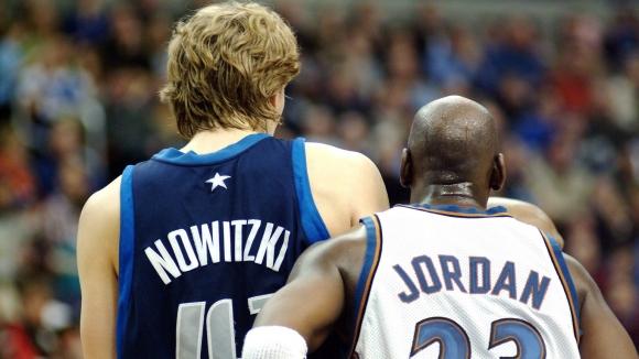 Историческа дата за Новицки и Джордан