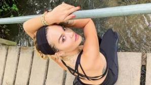 Рита Ора провокира в социалните мрежи (снимки)