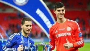 Куртоа и Азар си имали кодово име за Реал още по времето, когато бяха в Челси