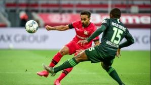 Бундеслига: Леверкузен 0:0 Волфсбург (Гледайте тук)