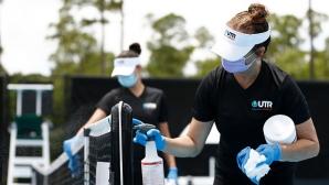 Играйте с маркирани топки и не се мотайте: новата реалност в тениса