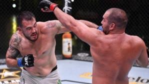 Благой Иванов - Багата отново загуби с разединено съдийско решение в UFC (видео + галерия)