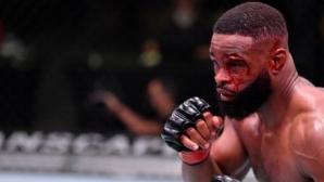 Тайрон Уудли отново напълно подчинен в октагона на UFC