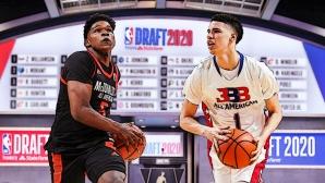 Драфтът в НБА остава за септември