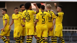 Падерборн 1:3 Дортмунд, Санчо успокои Борусия с втори гол (Гледайте тук)