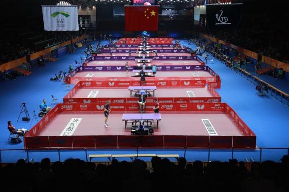 Световното отборно първенство по тенис на маса няма...