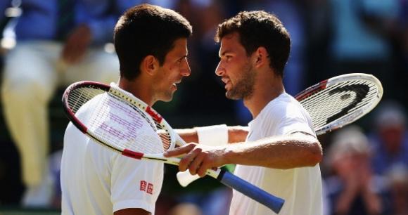 Eurosport ще излъчва на живо турнира с участието на Григор и Джокович
