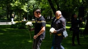 Ботев (Пд) почете 144-ата годишнина от смъртта на клубния патрон