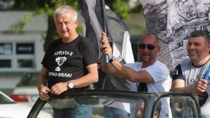 Крушарски коментира рестарта на първенството, Гонзо и новия стадион
