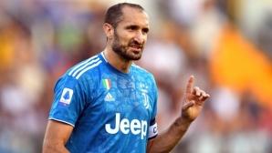 Киелини: Можех да премина в Реал Мадрид или Манчестър Сити
