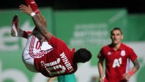 Фрапантни пропуски на Али Соу за малко не доведоха до голям провал на ЦСКА-София (видео+галерия)