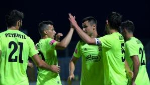Новият треньор на Динамо (З) тръгна с лесна победа (видео)