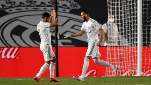 Реал се разправи с Валенсия за едно полувреме (видео)